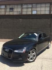 Used 2015 Audi A4 Technik - S-LINE - NAVI - CERTIFIED for sale in Toronto, ON