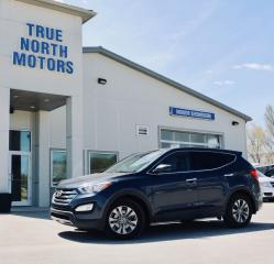 Used 2013 Hyundai Santa Fe Leather Roof Back-Up Cam Bluetooth for sale in Selkirk, MB