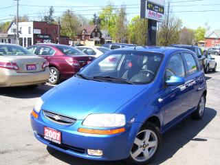 Used 2007 Chevrolet Aveo LT,ALLOYS,SUNROOF,FOG LIGHTS,GAS SAVER,NO ACCIDENT for sale in Kitchener, ON