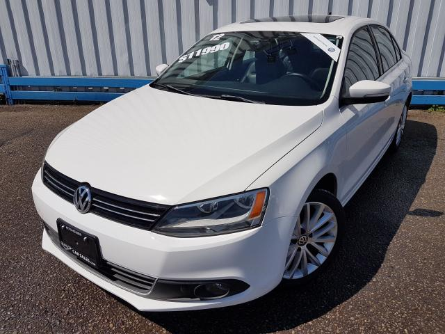 2012 Volkswagen Jetta Highline *LEATHER-SUNROOF-NAVIGATION*