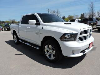 Used 2016 RAM 1500 Sport. Hemi. 4X4. Navigation for sale in Gorrie, ON