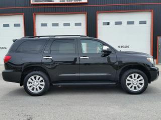 Used 2015 Toyota Sequoia Platinum 4x4 for sale in Jarvis, ON