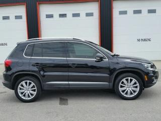 Used 2012 Volkswagen Tiguan 4x4 for sale in Jarvis, ON