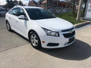 Used 2013 Chevrolet Cruze LT,1.4 L TURBO,LEATHER,SAFETY+3YRS WARRANTY INCLUD for sale in Toronto, ON