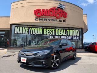 Used 2017 Honda Civic Touring+NAV+SUNROOF+PATH & FORWARD COLLISION+MORE for sale in Toronto, ON