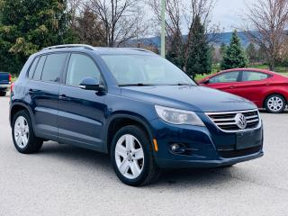 Used 2011 Volkswagen Tiguan LOADED+LIKE NEW+MUST SEE! for sale in Kelowna, BC