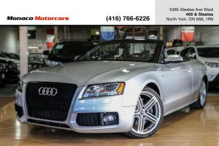 Used 2010 Audi S5 Cabriolet Premium - NAV|BACKUP|BLINDSPOT|BANG&OLUF for sale in North York, ON