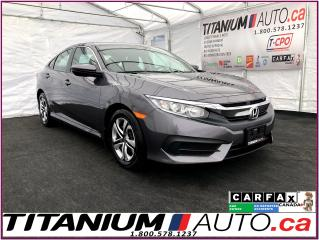 Used 2017 Honda Civic LX+Camera+Heated Seats+Apple Play+Android Auto+ for sale in London, ON