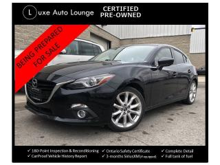 Used 2015 Mazda MAZDA3 GT - TECH PKG. NAV, SUNROOF, HEATED SEATS! for sale in Orleans, ON