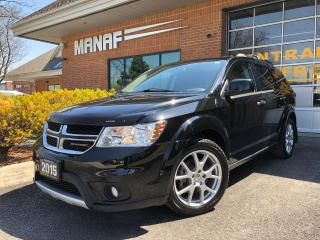 Used 2015 Dodge Journey R/AWD R/T Sunroof Navi Remote Starter Certified* for sale in Concord, ON