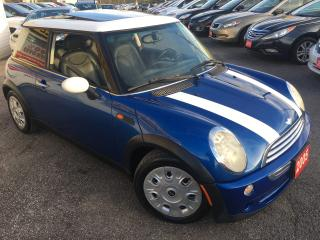 Used 2005 MINI Cooper 5 SPEED/ LEATHER/ SUNROOF/ FOG LIGHTS/ LOADED! for sale in Scarborough, ON