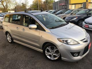 Used 2009 Mazda MAZDA5 GT/ 6 SEATER/ AUTO/ LEATHER/ SUNROOF/ ALLOYS! for sale in Scarborough, ON