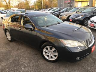 Used 2007 Lexus ES 350 AUTO/ LEATHER/ SUNROOF/ ALLOYS/ FOG LIGHTS! for sale in Scarborough, ON