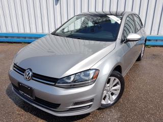 Used 2015 Volkswagen Golf TSI Comfortline *LEATHER-SUNROOF* for sale in Kitchener, ON