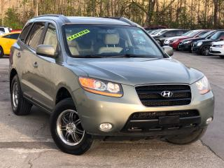 Used 2008 Hyundai Santa Fe LEATHER,SUNROOF, ALLOYS, HEATED SEATS,FULLY LOADED for sale in Mississauga, ON