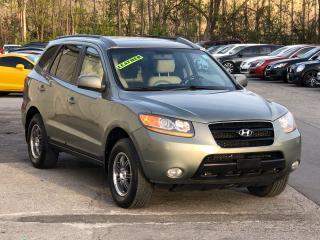 Used 2008 Hyundai Santa Fe LEATHER,SUNROOF, ALLOYS, HEATED SEATS,FULLY LOADED for sale in Mississauga, ON