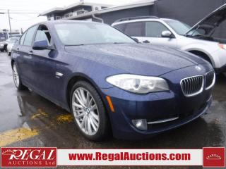 Used 2012 BMW 5 Series 550I Xdrive 4D Sedan AWD for sale in Calgary, AB