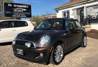 Used 2010 MINI Cooper S Mayfair Edition MANUAL LOW KMS NO ACCIDENT for sale in Mississauga, ON