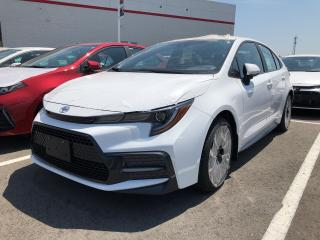 New 2020 Toyota Corolla SE for sale in Pickering, ON