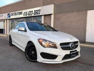 Used 2015 Mercedes-Benz CLA-Class 250 4MATIC-NAVI-PANO SN ROOF for sale in Toronto, ON