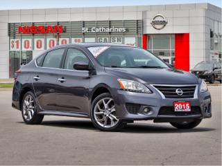 Used 2015 Nissan Sentra SR NAV & MOON ROOF for sale in St. Catharines, ON