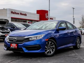 Used 2016 Honda Civic EX|SERVICE HISTORY ON FILE|ACCIDENT FREE for sale in Burlington, ON