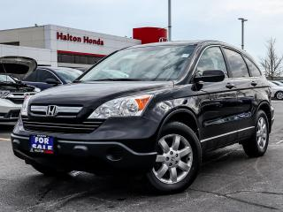 Used 2009 Honda CR-V EX-L 4WD 5-Speed AT for sale in Burlington, ON