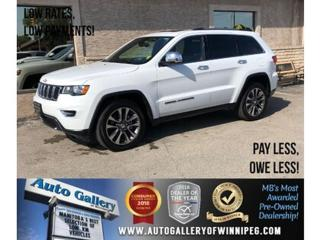 Used 2018 Jeep Grand Cherokee Limited *AWD/Htd Lthr/Navi/V6 for sale in Winnipeg, MB