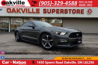 Used 2017 Ford Mustang V6 MUSTANG | B/U CAM | LED | MANUAL for sale in Oakville, ON