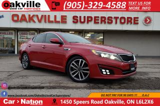 Used 2015 Kia Optima SX TURBO | LEATHER | PANO ROOF | NAV | LOADED for sale in Oakville, ON