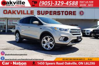 Used 2017 Ford Escape TITANIUM | LEATHER | PANO | BLINDSPOT | LOADED for sale in Oakville, ON