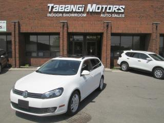 Used 2011 Volkswagen Golf Wagon HIGHLINE | LEATHER | SUNROOF | HEATED SEATS | B\T for sale in Mississauga, ON