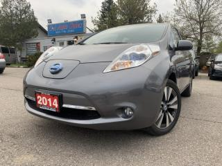 Used 2014 Nissan Leaf 4dr HB* w/ 360 Camera, Bluetooth, Navi & ACCIDENT FREE* for sale in Brampton, ON