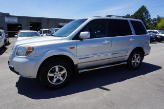 Used 2006 Honda Pilot EXl 4X4 AWD 8 PASSENGERS CERTIFIED 2YR WARRANTY SUNROOF LEATHER for sale in Milton, ON