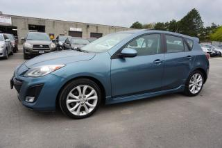 Used 2011 Mazda MAZDA3 2.5 GT HATCHBACK AUTO CERTIFIED 2YR WARRANTY *1 OWNER*2ND SET OF TIRES* SUNROOF LEATHER for sale in Milton, ON
