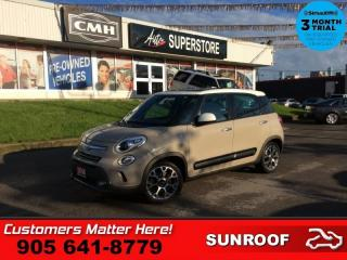 Used 2014 Fiat 500 L Trekking  NAV PANO-ROOF HS BT LEATH/CLOTH AUTO for sale in St. Catharines, ON