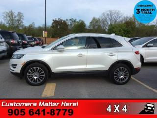Used 2016 Lincoln MKC Reserve  RESREVE TECH NAV SELF-PARK PANO-ROOF for sale in St. Catharines, ON