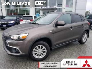 Used 2016 Mitsubishi RVR SE  - Bluetooth -  Heated Seats for sale in Port Coquitlam, BC