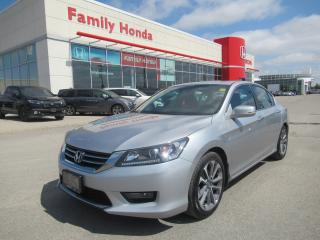 Used 2015 Honda Accord Sport for sale in Brampton, ON