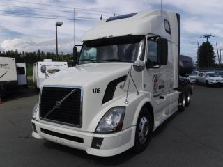 Used 2011 Volvo VNL Sleeper Cab Highway Tractor Diesel for sale in Burnaby, BC
