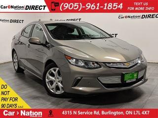 Used 2017 Chevrolet Volt Premier| NAVI| LEATHER| PLUG-IN HYBRID| for sale in Burlington, ON