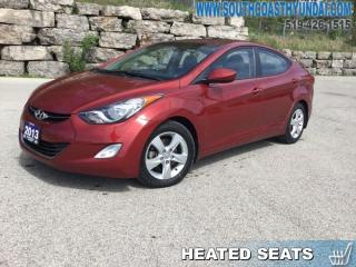 Used 2013 Hyundai Elantra GLS at  - Cloth Seats - Proximity Key - $100.36 B/W for sale in Simcoe, ON