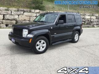 Used 2010 Jeep Liberty Sport 4D Utility 4WD  - Cloth Seats - $170.72 B/W for sale in Simcoe, ON