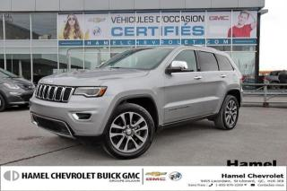 Used 2018 Jeep Grand Cherokee LUXURY * TOIT PANORAMIQUE* NAVIGATION * JANTES 20 for sale in St-Léonard, QC
