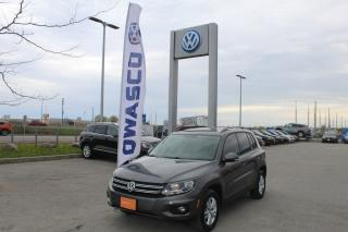 Used 2015 Volkswagen Tiguan Trendline for sale in Whitby, ON