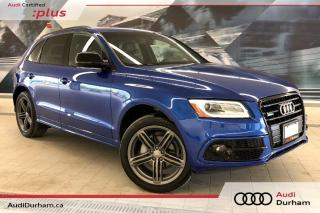 Used 2016 Audi Q5 2.0T Technik + Blind Spot | S-Line | Rear Cam for sale in Whitby, ON