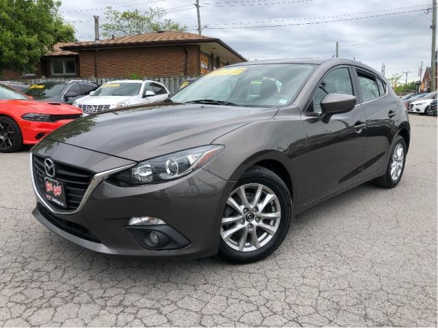 2015 Mazda MAZDA3 Sport GS | Sunroof| Auto | Htd Seats| Alloys|Bluetooth|