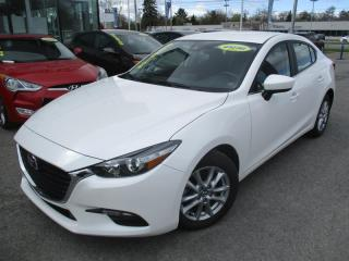 Used 2018 Mazda MAZDA3 GS, SKYACTIVE, VOLANT CHAUFFANT, MAGS, A/C for sale in Blainville, QC