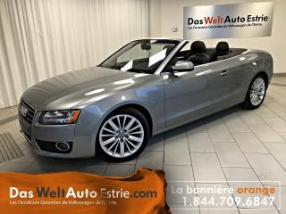 Used 2010 Audi A5 2.0t Premium, Cuir for sale in Sherbrooke, QC