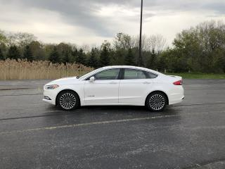 Used 2018 Ford Fusion Hybrid Titanium FWD for sale in Cayuga, ON